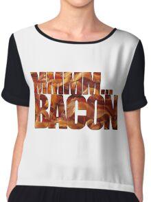 MMMM... Bacon Chiffon Top