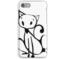 Ink Cat iPhone Case/Skin