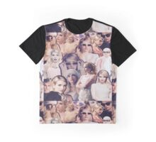 Chanel Oberlin - Emma Roberts Collage Graphic T-Shirt