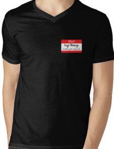 Hello My Name Is Inigo Montoya You Drank My Coffee Mens V-Neck T-Shirt