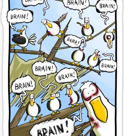 Zombie Gulls Sticker