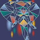 Polygonal Elephant by piercek26