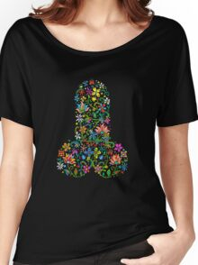Flower Cock - Colour Version Women's Relaxed Fit T-Shirt