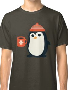 Penguin the Cute Penguin Winter Adorable Animal Classic T-Shirt