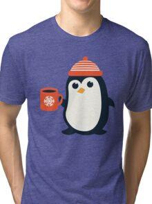 Penguin the Cute Penguin Winter Adorable Animal Tri-blend T-Shirt