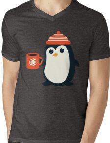 Penguin the Cute Penguin Winter Adorable Animal Mens V-Neck T-Shirt