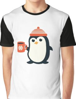 Penguin the Cute Penguin Winter Adorable Animal Graphic T-Shirt