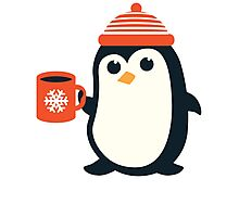 Penguin the Cute Penguin Winter Adorable Animal Photographic Print
