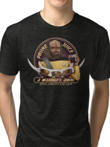 Star Trek TNG Worf Prune Juice Enterprise Tri-blend T-Shirt