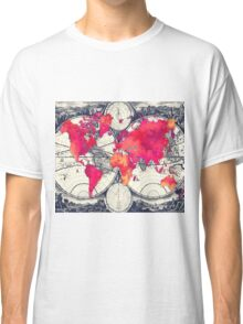 World map 10 Classic T-Shirt