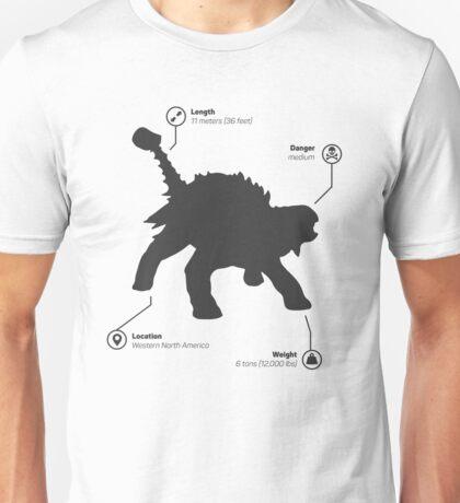 Ankylosaurus Unisex T-Shirt