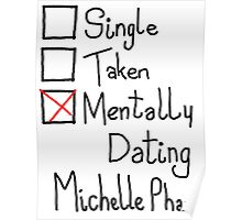 Mentally Dating Michelle Phan Poster