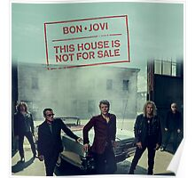 Bon Jovi This House Is Not For Sale Merchandise Poster