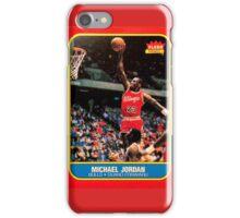 Michael Jordan Rookie Card iPhone Case/Skin