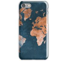 world map 15 iPhone Case/Skin
