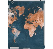 world map 15 iPad Case/Skin