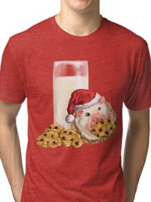 Christmas Cookie Hog Tri-blend T-Shirt