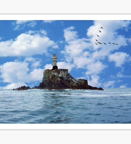 Fastnet Rock Lighthouse Co. Cork, Ireland Sticker