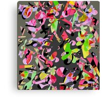 Playful pother Canvas Print