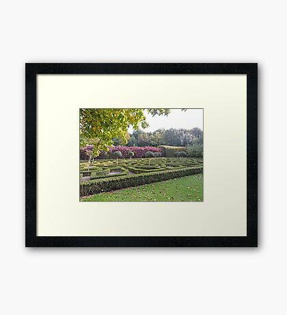 How Puzzling All These Changes Are Framed Print