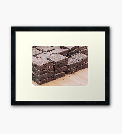 Brownies Are Best Framed Print