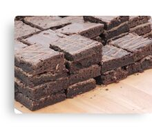 Brownies Are Best Canvas Print