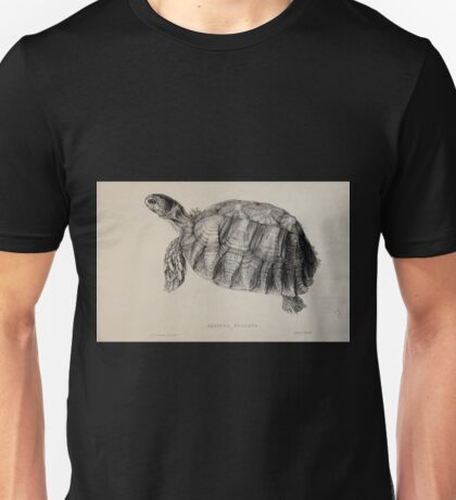 Tortoises terrapins and turtles drawn from life by James de Carle Sowerby and Edward Lear 019 Unisex T-Shirt