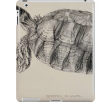 Tortoises terrapins and turtles drawn from life by James de Carle Sowerby and Edward Lear 019 iPad Case/Skin
