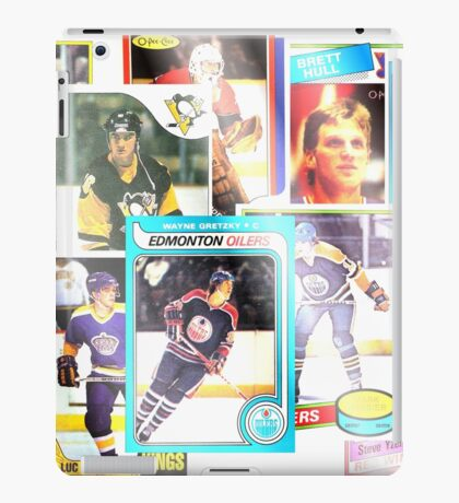 80s NHL Hockey Rookie Stars; Faded iPad Case/Skin