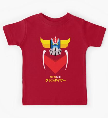 Grendizer - Color and japanese writing Kids Tee