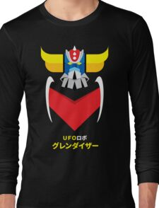 Grendizer - Color and japanese writing Long Sleeve T-Shirt