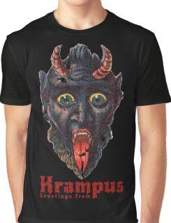Gruss Vom Krampus Greetings From Christmas Demon  Graphic T-Shirt