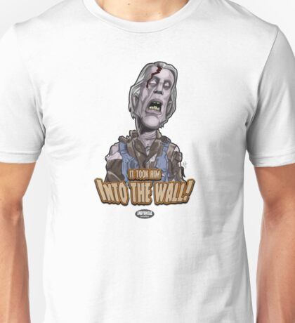 Zombie Construction Worker Unisex T-Shirt