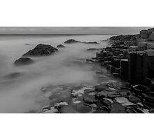 Causeway stones Photographic Print