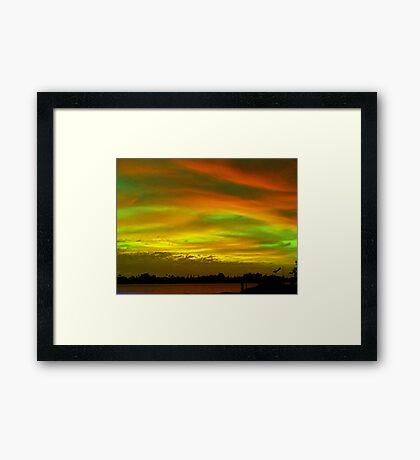 Sky to remember Framed Print