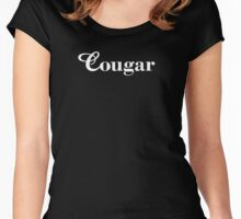Cougar Women's Fitted Scoop T-Shirt
