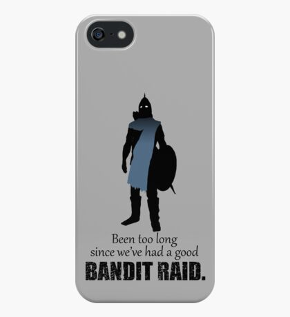 Skyrim Guard - Bandit Raid iPhone Case/Skin