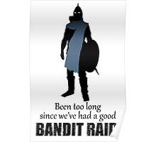 Skyrim Guard - Bandit Raid Poster