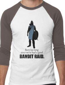 Skyrim Guard - Bandit Raid Men's Baseball ¾ T-Shirt