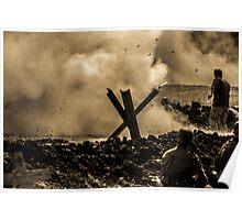 WW2 Shrapnel Poster