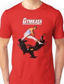The skill of gymnastics, the kill of karate. Unisex T-Shirt