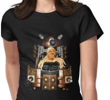 Dalek Trump Womens Fitted T-Shirt