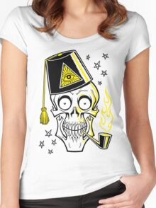 MR. BONES Women's Fitted Scoop T-Shirt