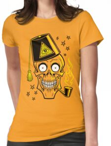 MR. BONES Womens Fitted T-Shirt