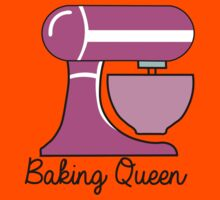 Baking Queen  Kids Tee