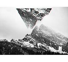 Snowy Mountain Photographic Print