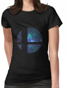 Super Smash Brothers logo Womens Fitted T-Shirt