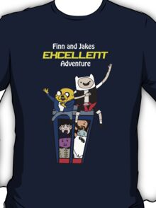Finn and Jakes Excellent Adventure Time T-Shirt