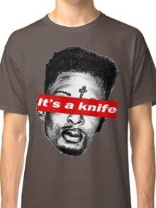 "21 Savage ""it's a knife"" Supreme Classic T-Shirt"