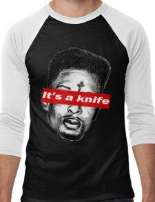 "21 Savage ""it's a knife"" Supreme Men's Baseball ¾ T-Shirt"
